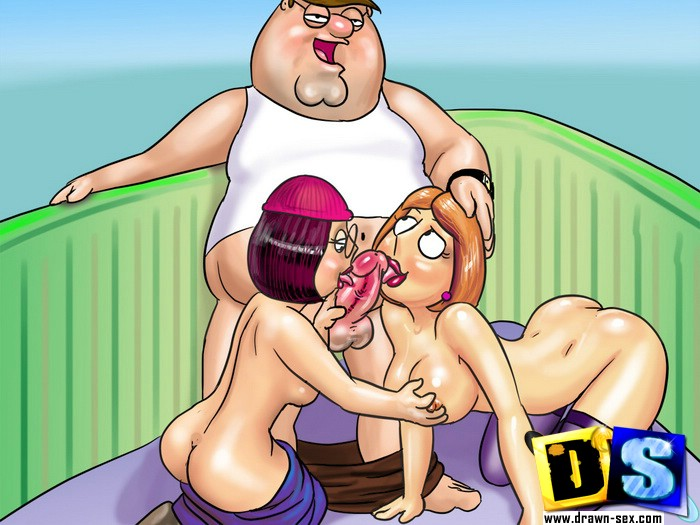 cartoon porn family guy