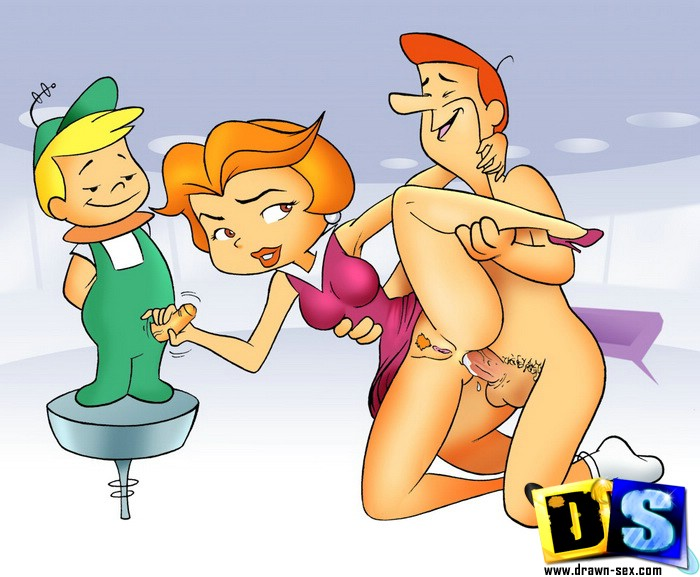 Sex Jetsons cartoon