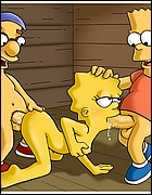 Lisa Simpson Fucked By Bart and Milhouse