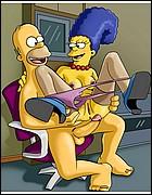 Horny Homer Fucks Sexy Marge