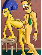 Ned Flanders Fucks Naked Marge