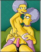 Marge Sisters in Lesbian Action