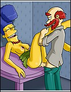 Sexy Marge Getting Fucked
