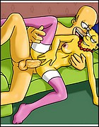 Marge and homer Simsons Sex