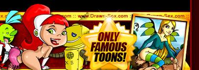 XXX Famous Cartoons