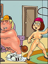 Naked Chris Griffin In BDSM Action