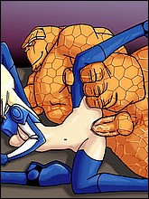 Fantastic Four Cartoon Porn Pics