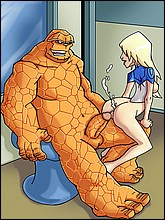 Hot Fantastic Four Cartoons