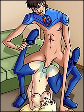 Drawn Sex Fantastic Four Toons