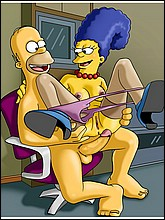 Horny Homer Simpson Fucks Hot Marge