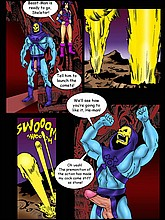 He-Man Cartoon Porn Comics