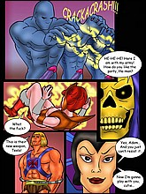 He-Man Adult Comics With Sex