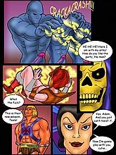 He-Man Adult Comics With Sex