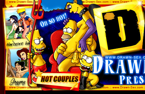 Drawn Sex Simpsons Erotic Toons
