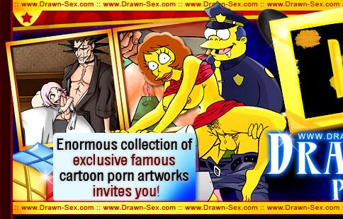 Drawn-Sex.Com Famous Cartoon Porn Artworks