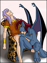 Gargoyles Cartoon Sex