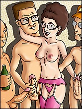 King of the Hill Sex Party