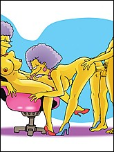 The Simpsons Horny Toons