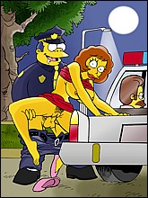 Horny Simpsons Toons Fucking