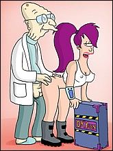 Horny Professor Fucks Sexy Leela