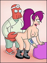 Naked Leela Getting Fucked By Dr. Zoidberg