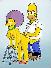 Horny Homer Fucks Marge's Sister