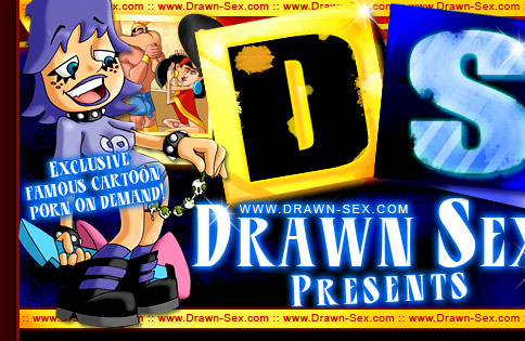 Drawn Sex presents Famous cartoon porn on demand