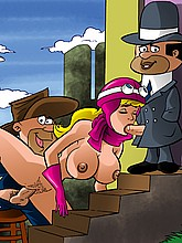 The Perils of Penelope Pitstop Drawn Sex