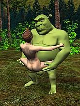 Shrek 3D porn