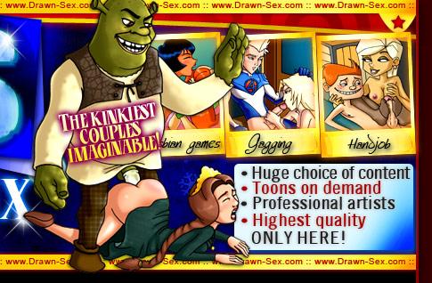 Shrek fucks Fiona