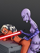 Alien fucking from Star Wars