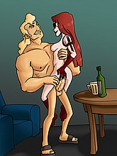 Horny toons from Venture Bros