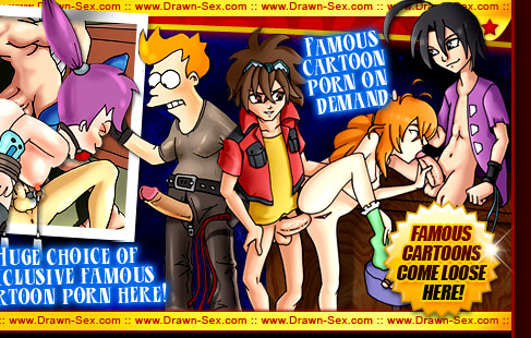 Hot Drawn Sex Famous Toons