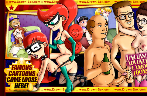 Cartoon girls having sex