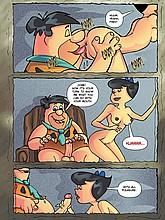 Flintstones XXX Comics