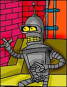 Bender With Iron Cock
