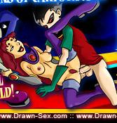 Adult Teen Titans Cartoons