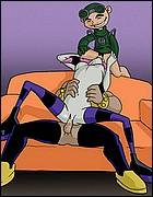 Teen Titans Cartoon Porn Pics