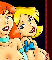 Naked Totally Spies Chicks