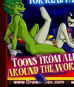 Teen Titans Toons Comics