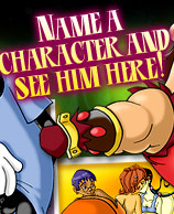Name a Character ad See Him Here!