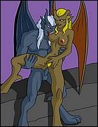 Sexy Gargoyles Fucks
