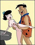 Horny Fred Flintstone