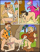 Hardcore Flintstones Porn Comics