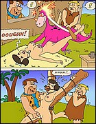 Flintstones Fetish Toons Comics