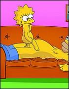 Cute Lisa Rides a Homer's Cock
