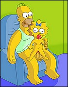 Homer Simpson Fucks Litle Maggie