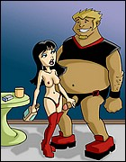 Drawn-Sex Dirty Cartoons