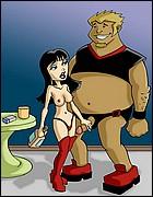 Drawn-Sex Dirty Cartoons